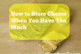 How to Store Cheese When You Have Too Much