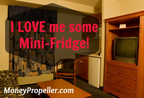 I Love Me Some Mini-Fridge!