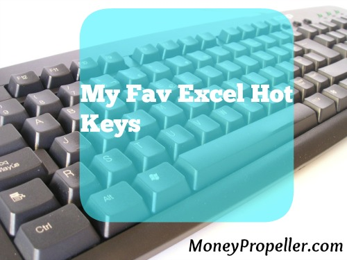 My Fav Excel Hot Keys