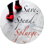save spend splurge logo