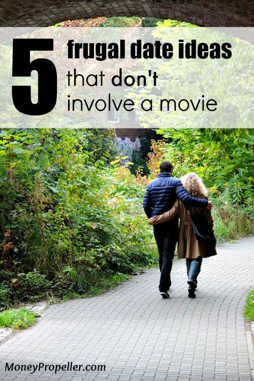 Finally! Some frugal date ideas that don't involve a movie or sitting on the couch!