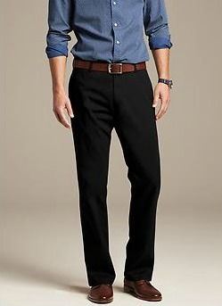 Gavin-Fit Straight Chino