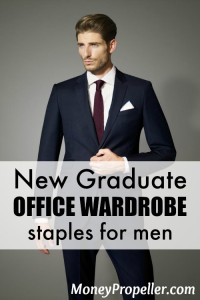 New Graduate Office Wardrobe Staples (Men)