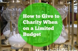 How to Give to Charity When on a Limited Budget
