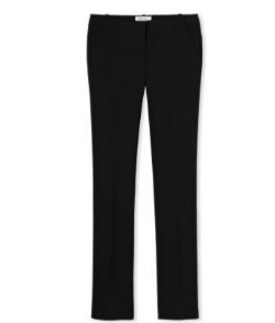 Straight Leg Black Pant