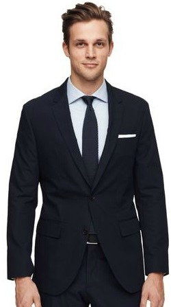 Wright Poplin Suit Blazer