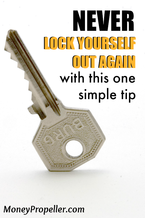 Find out how to never lock yourself out again with this easy solution. I can't imagine life without it anymore and it's really simple!