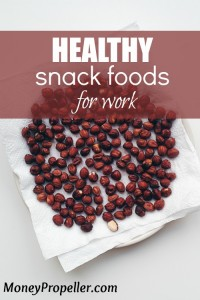 Here are some healthy snack foods for work. There are some that are healthier than others of course, but stocking up on healthy choices will keep you healthier! Check out the list.