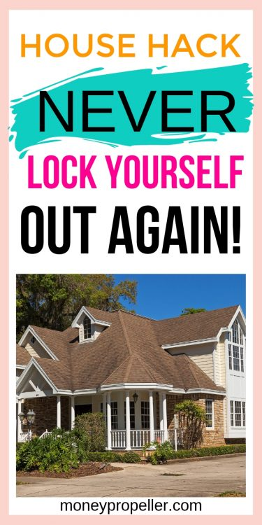 How to Never Lock Yourself Out of Your House Again | What I did to never lock myself out of my house again | The easy house hack that everyone needs. | How to ensure your teenagers can always come home and get inside safely. How to save money on a locksmith. How to avoid landlord callouts for keys.