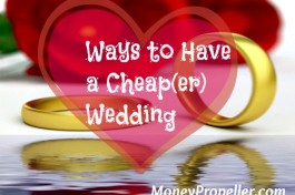 Ways to Have a Cheap(er) Wedding
