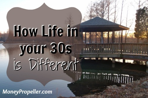 How Life in your 30s is Different