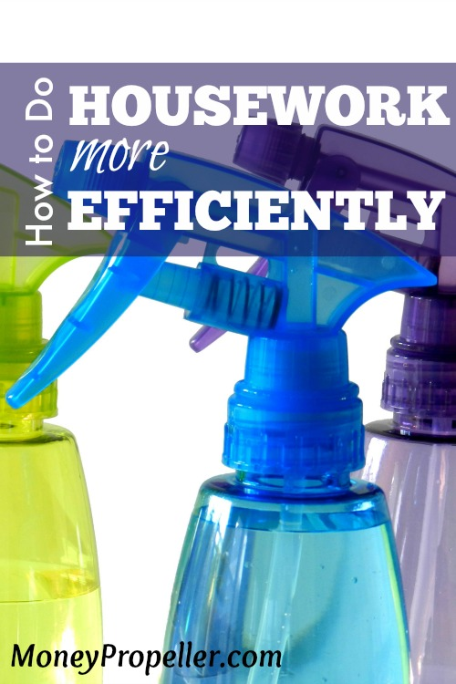 How to Do Housework More Efficiently