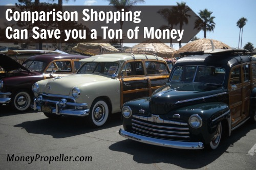 comparison shopping can save you a ton of money