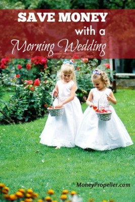 Save Money with a Morning Wedding