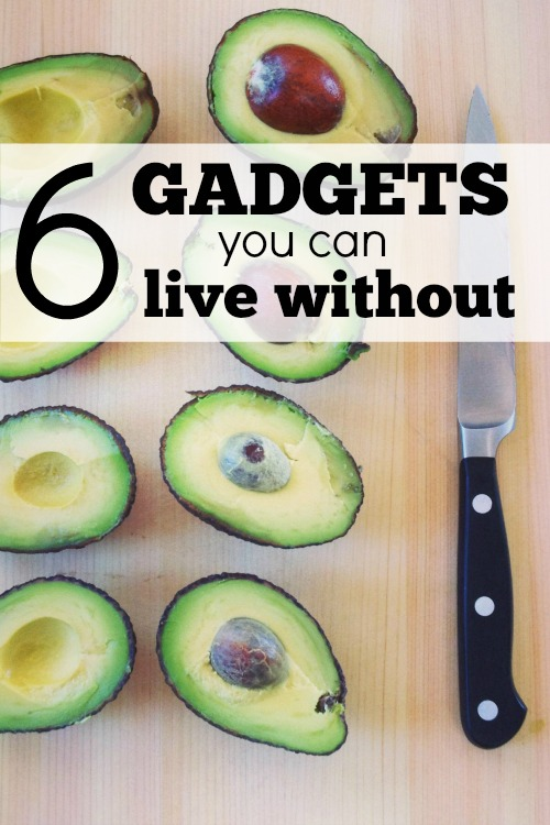 There's a device out there for everything, but you don't need them all!  Here are 6 gadgets you can live without.  Can you live without them?