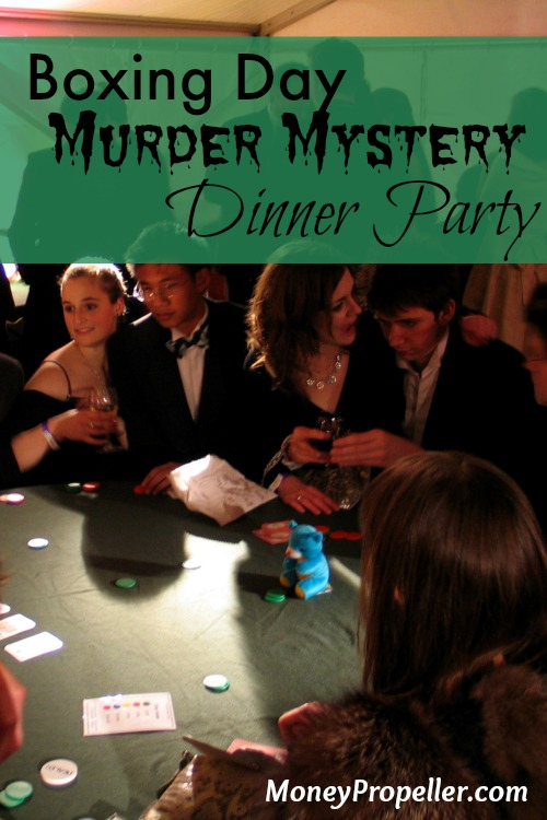Boxing Day Murder Mystery Dinner Party