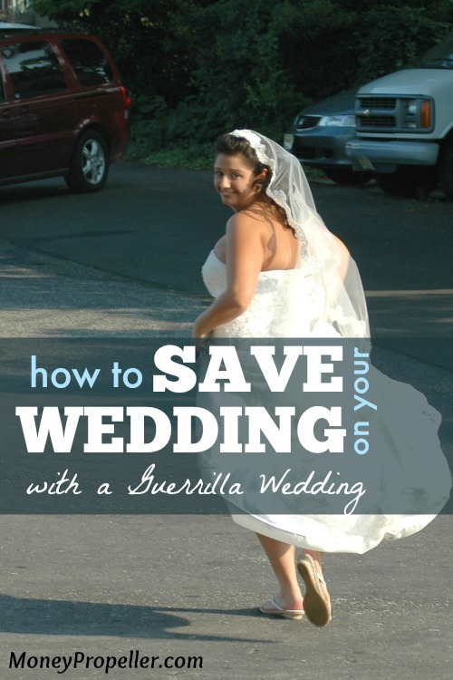 Save Money with a Guerrilla Wedding Ceremony