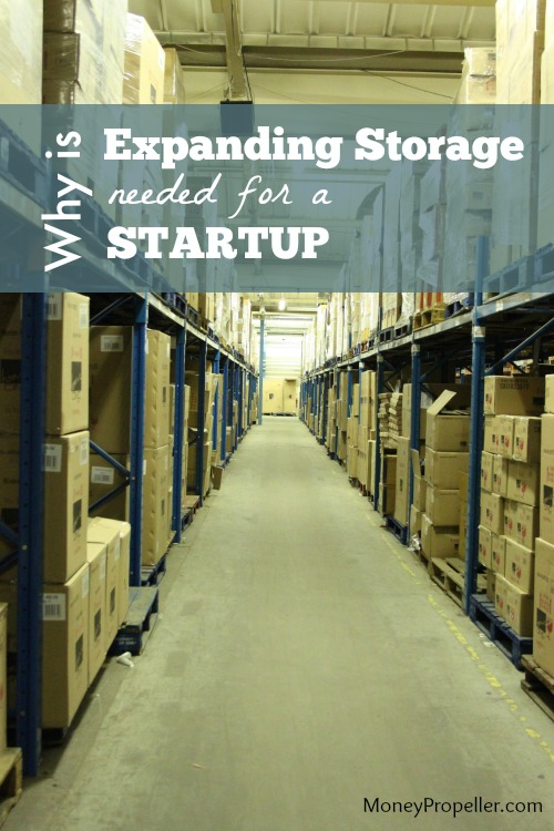 Why is Expanding Storage Needed for a Startup