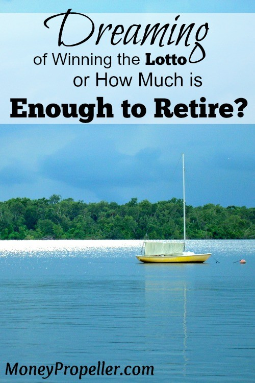 """Do you want to split $35M with me? My coworkers were dreaming of winning the lotto, which led to discussion """"how much is enough for us to retire?"""""""