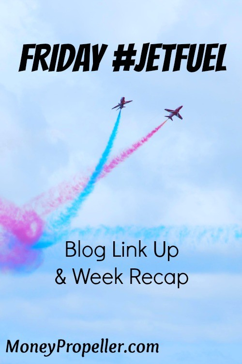 Friday JetFuel Blog Link Up and Week Recap - Join us!