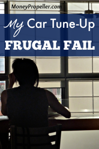 My Car Tune Up Frugal Fail