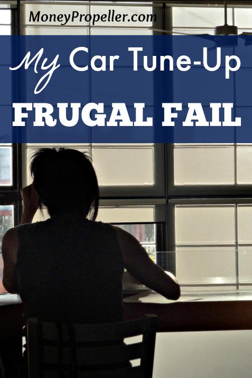 My Car Tune-Up Frugal Fail