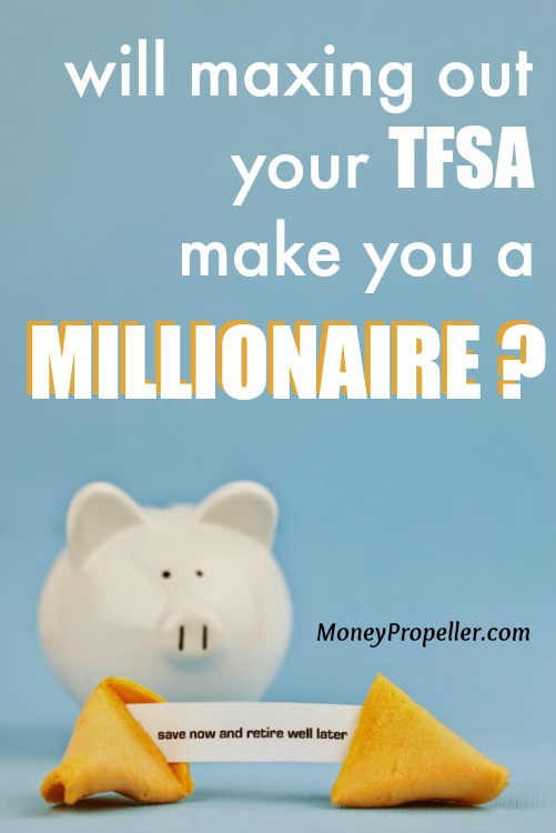 Will maxing out your TFSA make you a millionaire?  Find out now!