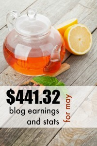 An Income Boost! Blog earnings and stats for May, and the lessons I learned along the way.