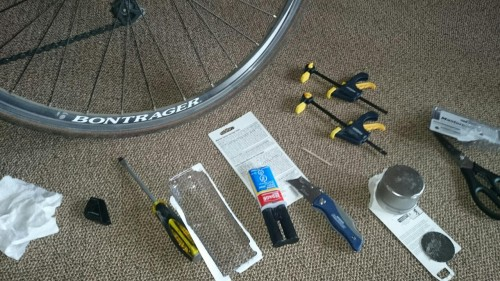 A Day in the Life of Anne - bike fixing tools