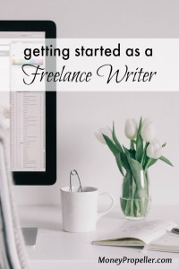 Getting Started as a Freelance Writer