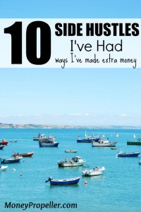 10 Side Hustles I've Way - Ways I've made extra money and you can too!