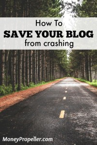How to Save Your Blog From Crashing