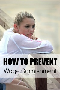 How to Prevent Wage Garnishment