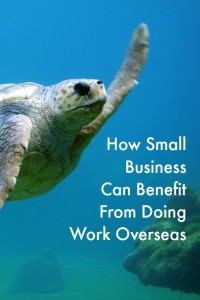 How Small Business Can benefit from doing Work Overseas
