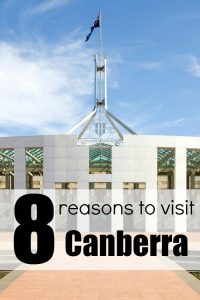 8 Reasons to Visit Canberra - Taking a vacation to Australia is totally on my bucketlist. Planning my travel is hard in a big country like that. This list of awesome things to do in Canberra is helping it make the cut for my epic road trip plan.