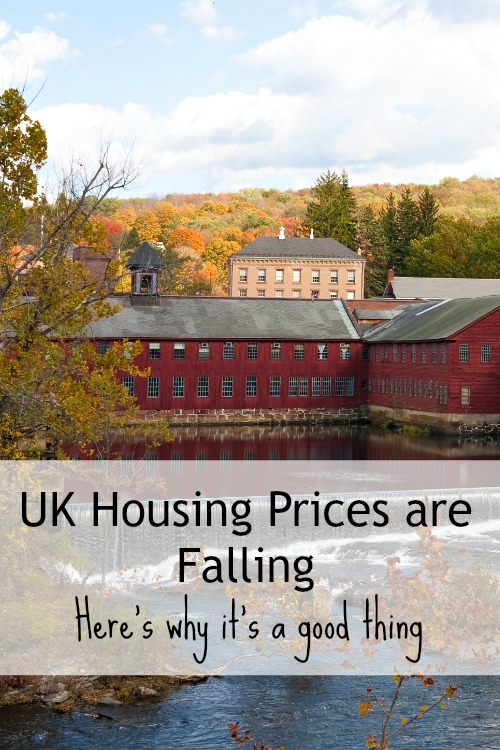 In the UK housing prices have started to drop. Here's why that's a good thing. It might be time for a real estate investment! Landlording here I come.