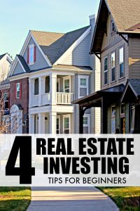 Real Estate Investing Tips for Beginners. Get started investing in real estate, without having to actually buy a piece of property yourself. This isn't a joke, REITs are an excellent way to gain real estate exposure without the lack of liquidity and increased risk.