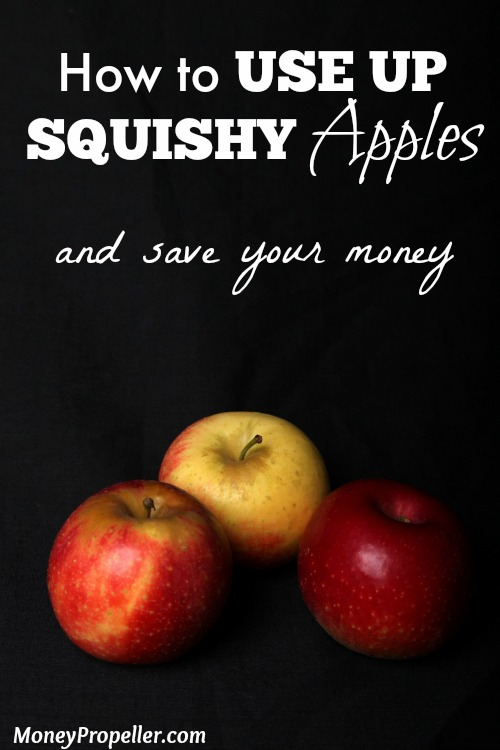 How to Use Up Squishy Apples and save your money