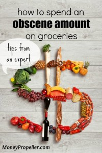 I am an expert in how to spend an obscene amount on groceries. Read on to find out how it is possible to blow money on food, and DON'T DO WHAT I DO!