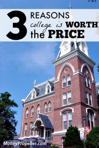 Some people believe that you do not have to have a college degree in order to be successful. Though that is true, here are 3 reasons college is worth the price.