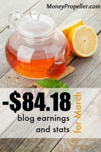 March was a bit hit or miss on the blog earnings and stats front. I'll take you in to the back end so you can check out the wins and losses and hopefully learn from them!